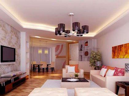客厅吊顶设计 注意四点让家更舒适