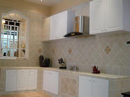 """瓷砖橱柜:还您一片厨房""""净地"""""""