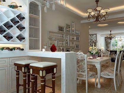 地中海风格吧台设计,享受生活爱上家