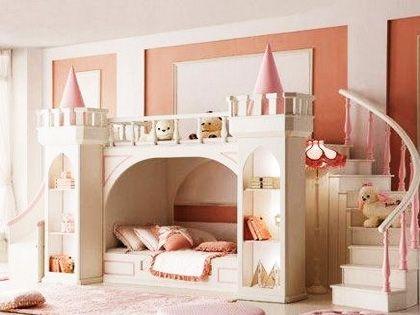 儿童房装饰:将童话照进现实