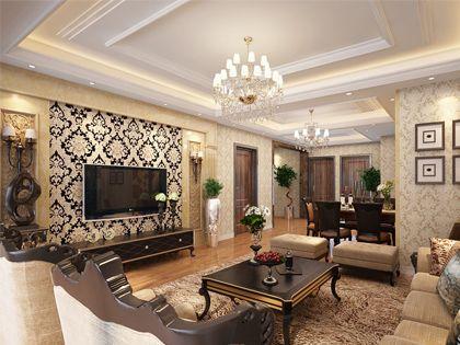 壁纸颜色搭配 各居室选择不一样
