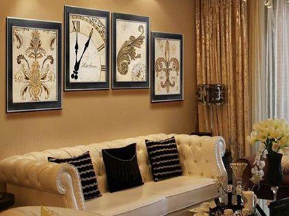 客厅装饰画尺寸的选择:掌握四个要点 提升客厅颜值