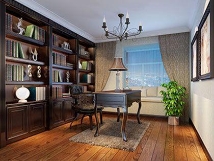 书房装饰设计,创意实用与文艺情调并存