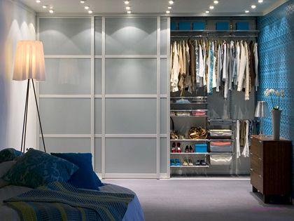 卧室整体衣柜:承包你和你卧室的颜值