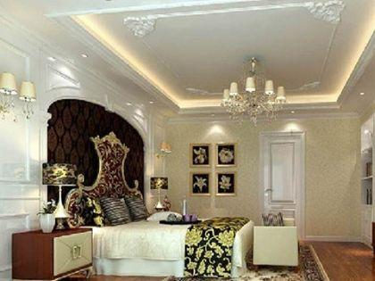欧式卧室吊顶:穹顶之上的华丽