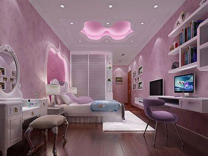 卧室吊顶造型:个性款式打造最美顶面风景