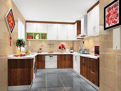 小厨房设计:巧妙布局 以小见大