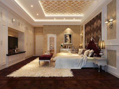 欧式卧室背景墙:不同时间 不一样的享受