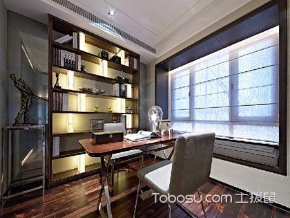 書房燈光布置:室內光線好,學習更高效
