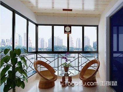 阳台吊顶设计 注重室外环境的影响