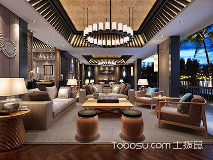 东南亚风格吊顶装饰:彰显浓郁热带风情