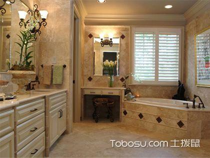 浴室贴砖效果图 打造别具一格空间