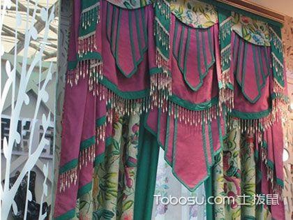 东南亚风格窗帘,不一样的窗边异国风情