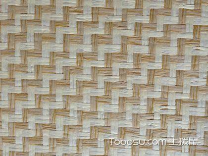 东南亚风格壁纸草编纹 时尚独特的选择
