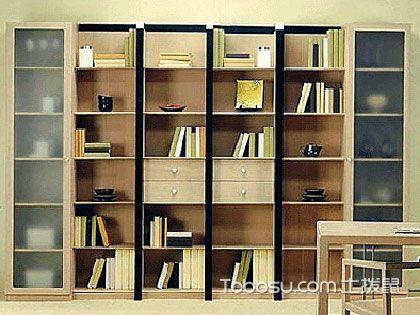 书柜设计4大要点,提高书房整齐度