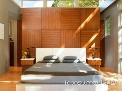 天然原木 打造日式风格卧室