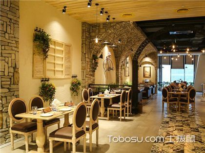 法式西餐廳裝飾,展現浪漫情懷