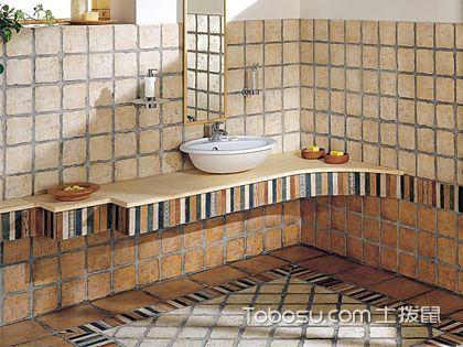 浴室贴砖有新意 多种方式帮你实现