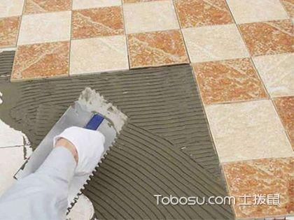怎样贴地板砖,3步让地面瞬间高大上