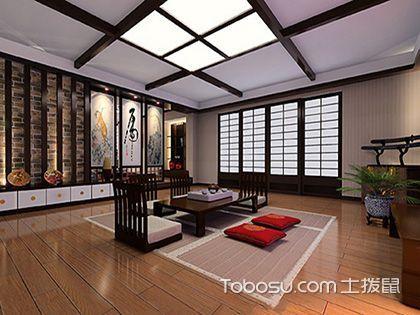 日式风格特点,追求宁静舒适