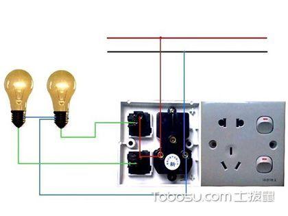 白炽灯安装方法,别忘了线卡需全部固定