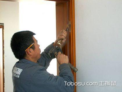 实木门安装:为爱家筑起一道牢固的安全屏障