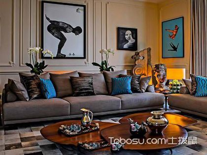 客厅混搭装修 装出创意家居
