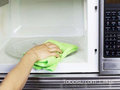 微波炉清洗有技巧  食用安全有保障