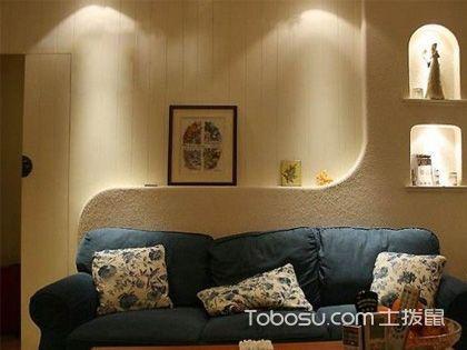 客厅沙发背景墙 和谐空间中的独特风景