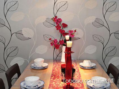 混搭壁纸实例 从墙面开始多元素设计