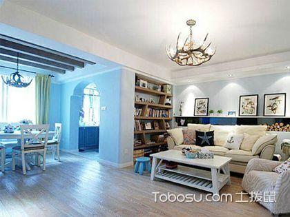 地中海客厅装修效果图 给你一个浪漫舒适空间