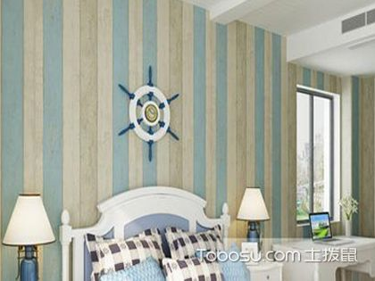 地中海風格壁紙,感受藍色的包圍