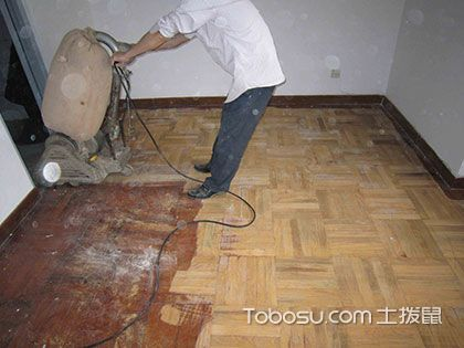 木地板翻新只需10步,让地板旧貌换新颜