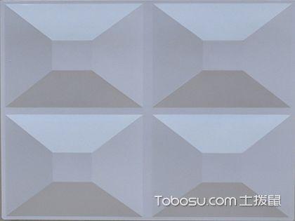 立体墙面装饰 教你认识三维板