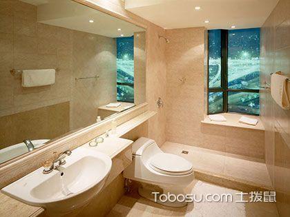 装修浴室,面积大小不同的浴室装修则不同