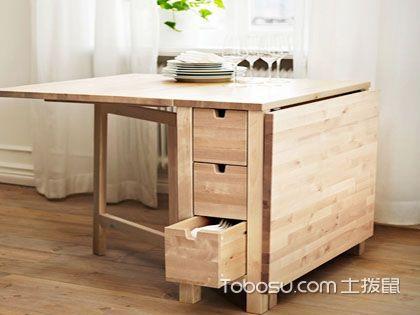 实木折叠桌子保养贴士  多功能便利持久享受