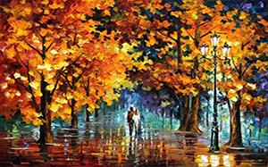 【风景油画】风景油画技法,保养,风景油画图片,种类