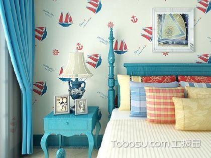 地中海卧室装修效果图 感受清新海洋风