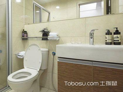 小户型浴室装修,巧用镜柜拉伸空间感