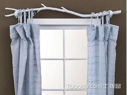 确定窗帘杆安装高度 点亮风景的第一步