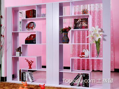 书柜隔断墙 实用装饰一举两得