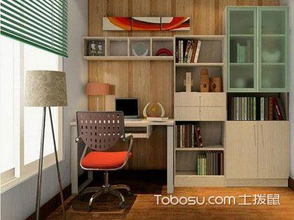 电脑书柜一体桌 满足工作时的多种需求