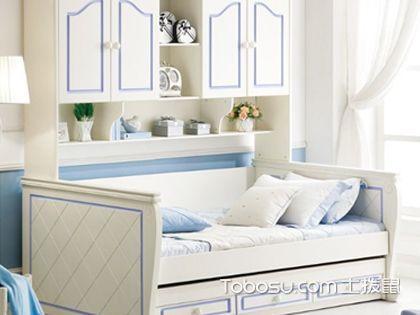 書柜床一體,功能齊全節省空間