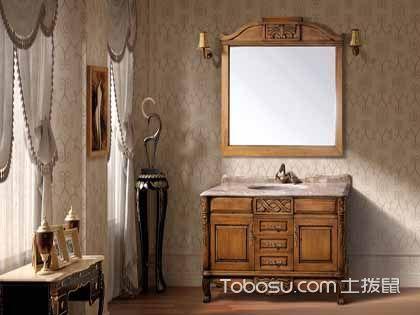 PVC浴室柜和实木浴室柜对比 没有最好只有最合适
