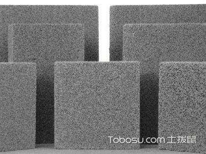 保温板分类,制造材料影响使用性能