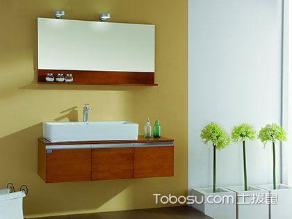 浴室柜什么材质好?台面柜体材质用料各不同