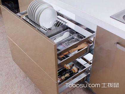 橱柜抽屉尺寸 局部可以灵活变动