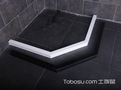 """淋浴房挡水条安装方法是什么?淋浴区""""锁水""""原来是这样做"""