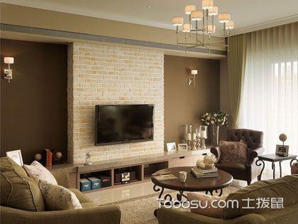 美式电视墙 展示个性的设计