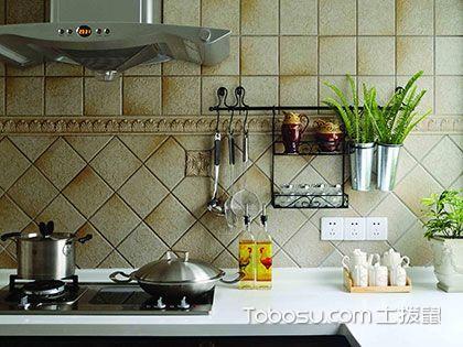 田园风格厨房装饰技巧,油烟味与小清新也能共处一室